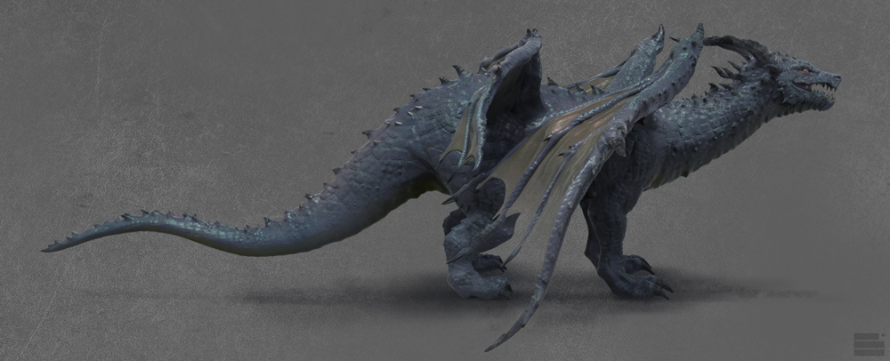 3D_Dragon_side